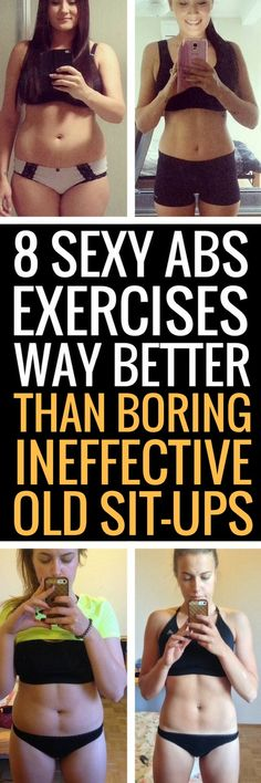 8 exercises more effective than sit-ups.