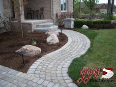 Paver Walkways and Driveway Pavers