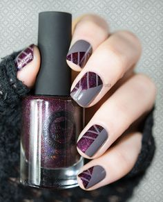 Espionne by Nailstation Black Orchid by ILNP