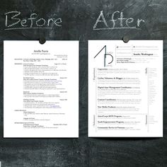 I love the way my new resume came out. A little design goes a long way!
