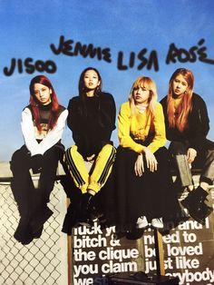 "yg-blackpink: """"blackpink for nylon japan (january 2017 issue) "" "" Kim Jennie, Jenny Kim, Kpop Girl Groups, Korean Girl Groups, Kpop Girls, Yg Entertainment, Divas, Blackpink Debut, Blackpink Members"