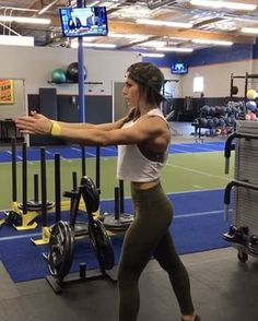 """13.9k Likes, 310 Comments - Alexia Clark (@alexia_clark) on Instagram: """"Mini Band Burn Out! 1. 15 reps each 2. 60seconds 3. 15 reps each arm 4. 60seconds 3-5 rounds!…"""""""