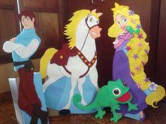 Rapunzel. Enredados . Figuras Grandes En Foami