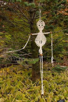 macramé skeleton