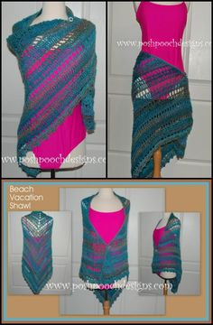 100 Free Crochet Shawl Patterns - Free Crochet Patterns - Page 9 of 19 - DIY & Crafts