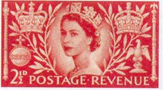 Queen Elizabeth II Stamps 1953 Coronation
