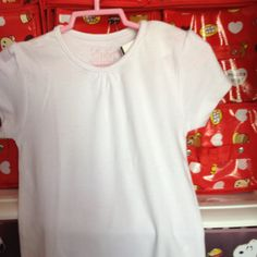 White Top super soft material 4-5 yrs S$12.90