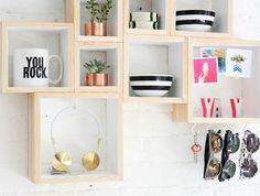 10 diy storage solutions diy home decor home decor diy storage rh pintere. Diy Storage, Storage Boxes, Storage Shelves, Storage Ideas, Wood Box Shelves, Organisation Ideas, Organization, Wood Storage, Shelving