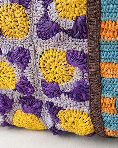 JAMIN PUECH crochet bag