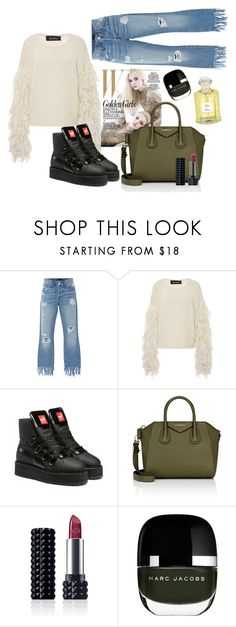"""""""Untitled #13"""" by notosuper on Polyvore featuring 3x1, Tabula Rasa, Puma, Givenchy, Kat Von D, Marc Jacobs and Creed"""