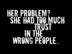 is that really HER problem? what ever happened to being real and truthful? ---but this is so me, either way.