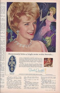 1964 Color McCalls Magazine Ad for Sarah by VictorianWardrobe, $4.00