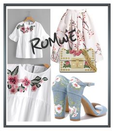 """""""Romwe contest"""" by gothbear13 ❤ liked on Polyvore featuring Gucci"""