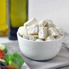 vegan feta, parmesan and Swiss cheese recipes Vegan Cheese Substitute, Vegan Feta Cheese, Vegan Cheese Recipes, Dairy Free Cheese, Vegan Foods, Vegan Dishes, Raw Food Recipes, Vegetarian Recipes, Cooking Recipes