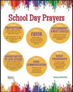 School day prayers