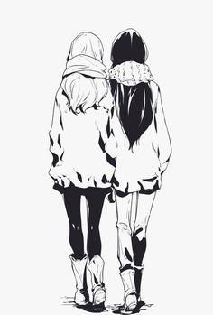 Two girls Best friends