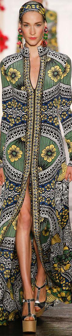 Boho fashion loved by JDzigner www.jdzigner.com NAEEM KHAN SPRING 2016 RTW