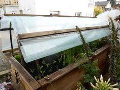 Dach fürs Hochbeet