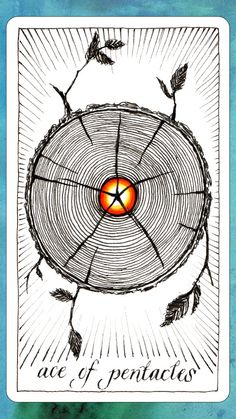 #tarotaffirmation ~ I am open to new financial opportinities. ~ Ace of Pentacles