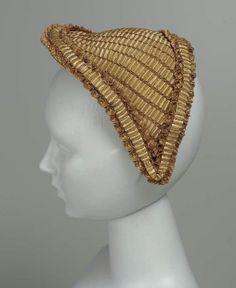 fanchon bonnets   Womans cap Womans hat (Fanchon bonnet) American, (mid-late) 1860s ...