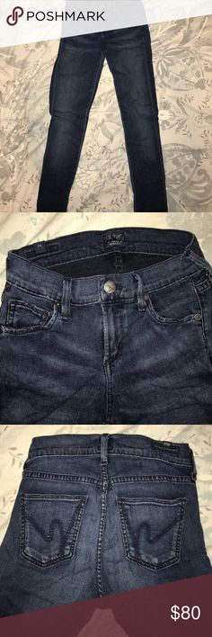 Citizens of Humanity skinny jeans size 24 Super skinny jeans by Citizens of Humanity. Super stretchy and comfortable material! Great condition Citizens of Humanity Jeans Skinny