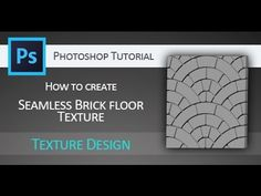 Tutorial: How to create tileable brick texture mask in Adobe Photoshop for use in Pixologic ZBrush