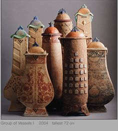 "Oh MY!!  This are Awesome....like a ""City of Jars""!!  by Avital Sheffer"
