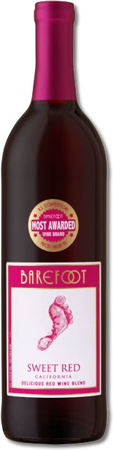 Sweet Red | Barefoot Wine & Bubbly-this is my new favorite wine. It's a good red without the bitter.