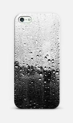 Black raindrops, so cool