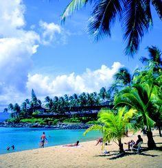 Napili Bay on northwestern Maui