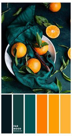 Orange Color Palettes, Color Schemes Colour Palettes, Colour Pallette, Color Combos, Orange Palette, Orange Color Schemes, Autumn Color Palette, Summer Color Palettes, Color Mixing Chart