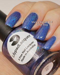 Lilypad Lacquer Indigo Love