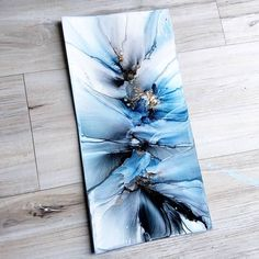 Liked Times, 121 Comments - Astuary Art by Marissa Recker ( . - alkohol ink - Can Epoxy Alcohol Ink Crafts, Alcohol Ink Painting, Alcohol Ink Art, Acrylic Pouring Art, Acrylic Art, Flow Painting, Pour Painting, Acrylic Painting Techniques, Resin Art