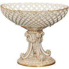 Paris Porcelain Compote.