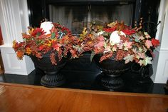 Easy to make fall urns!