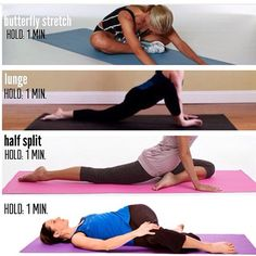 Stretches for splits
