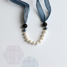 great jewelry for the younger set. love the DIY kits (& i am not usually DIY fan) Image of Audrey in denim blue