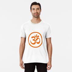 Meditation Symbols, Om Symbol, My T Shirt, Large Prints, Tshirt Colors, Chiffon Tops, Tees, Shirts, Fitness Models