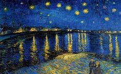 Over the Rhone by Van Gogh Starry Night - Bing Images