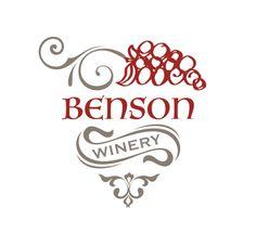 A vintage style winery logo #winery #logo