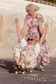 This will be me and my best friend in our old age :) I Smile, Make Me Smile, My Best Friend, Best Friends, Crazy Friends, Sister Friends, Old Age, Young At Heart, Happy People