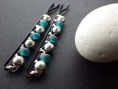 Mermaid Accessories Aqua Teal Blue Silver Trending by CassieVision