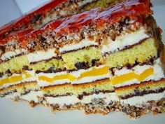Russian Recipes, Home Recipes, Good Food, Food And Drink, Meals, Dishes, Baking, Breakfast, Cake