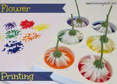Peinture à fleurs