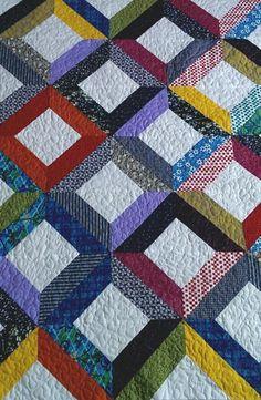 Patchwork deka – Veselá prikrývka Návod
