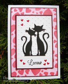 Kersten's Kreativkiste: Cats in Love