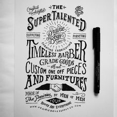 hand type by Pez & Pencil