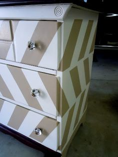 painted dresser!