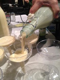 INGREDIENTS  1 can of condensed milk  1 can of evaporated milk  1 can of coconut milk (Coco Lopez)  7 egg yolks  1 tsp vanilla  ...