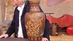 Bodenvase von Villeroy & Boch, 1916, Keramik   Wert 400 - 600 €